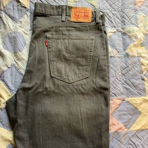 Levi's grey jeans 42W 34L